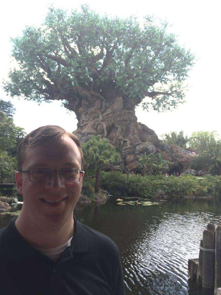 Brian at Animal Kingdom