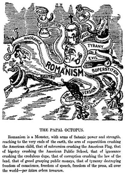 Anti-Roman Catholic