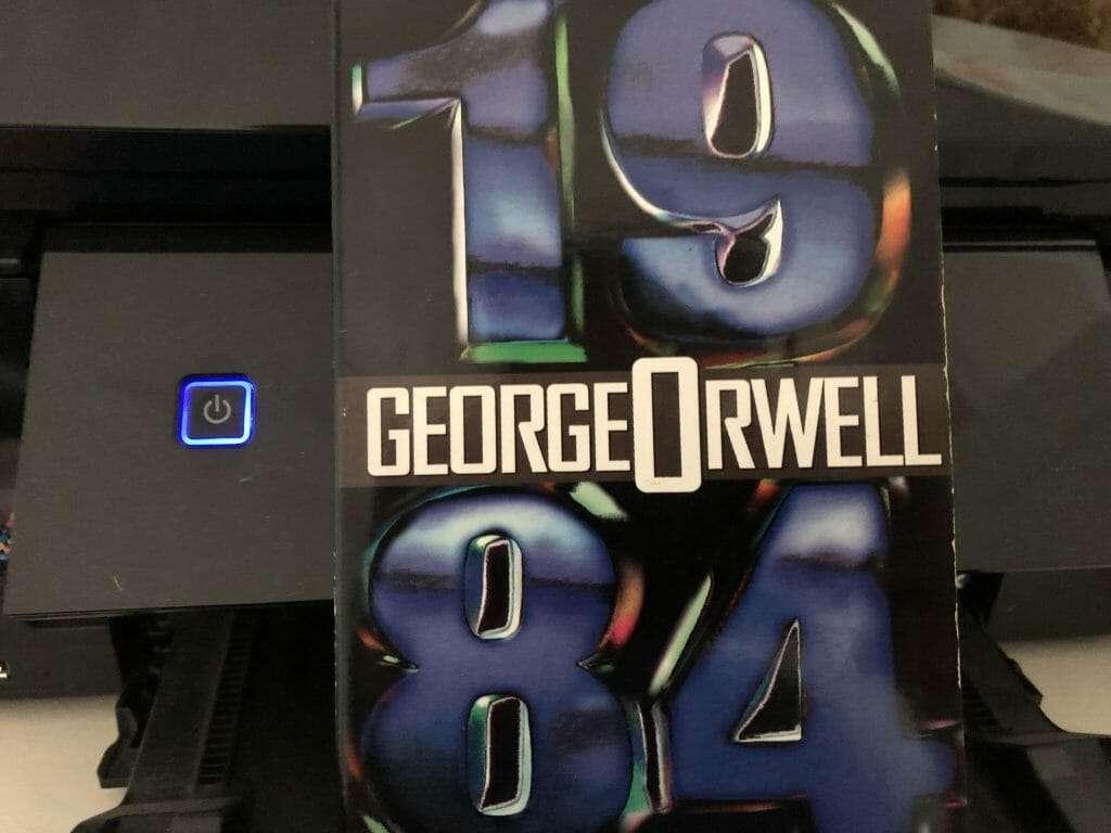 1984 book cover
